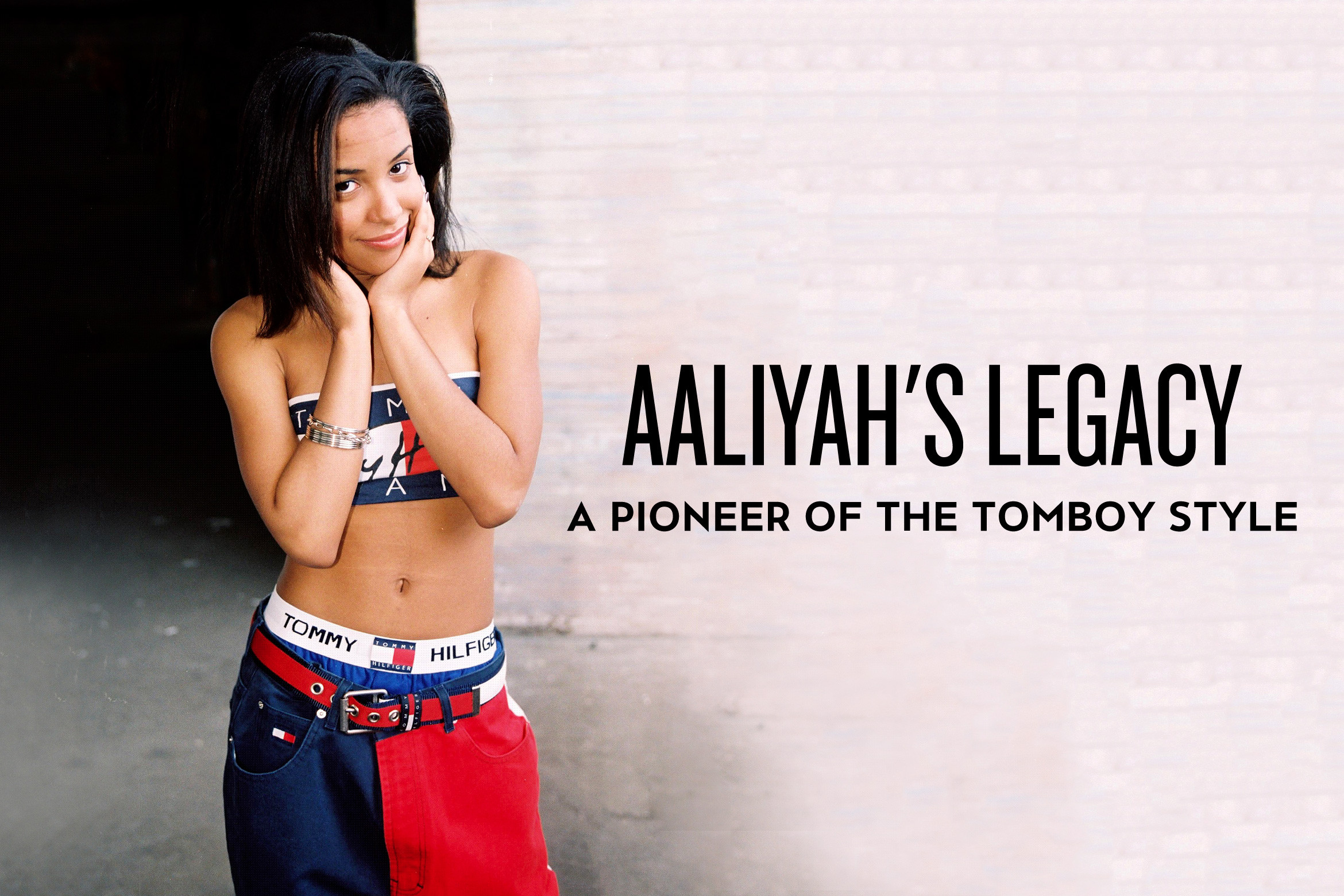 Aaliyah\u0027s Legacy A Pioneer of the Tomboy Style