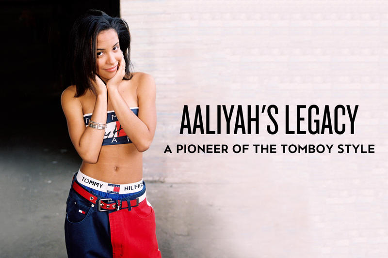 27653df7868 Aaliyah's Legacy: A Pioneer of the Tomboy Style | HYPEBEAST