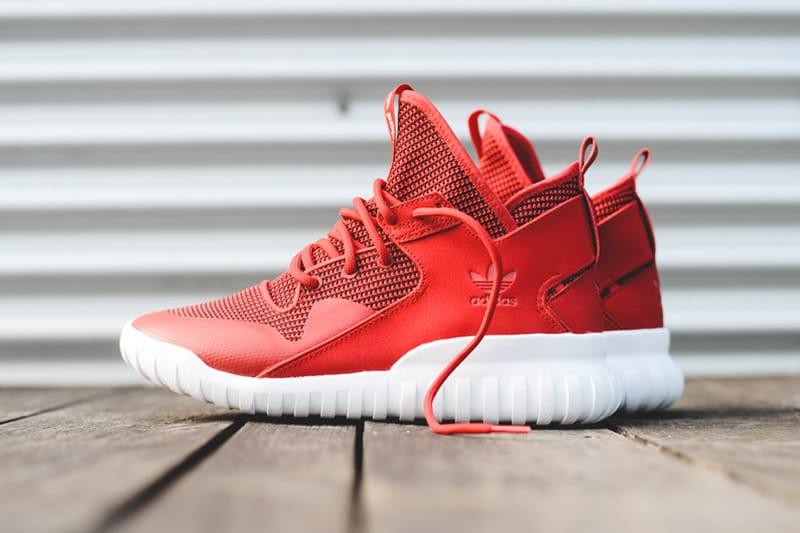 adidas Originals Tubular X Primeknit Red