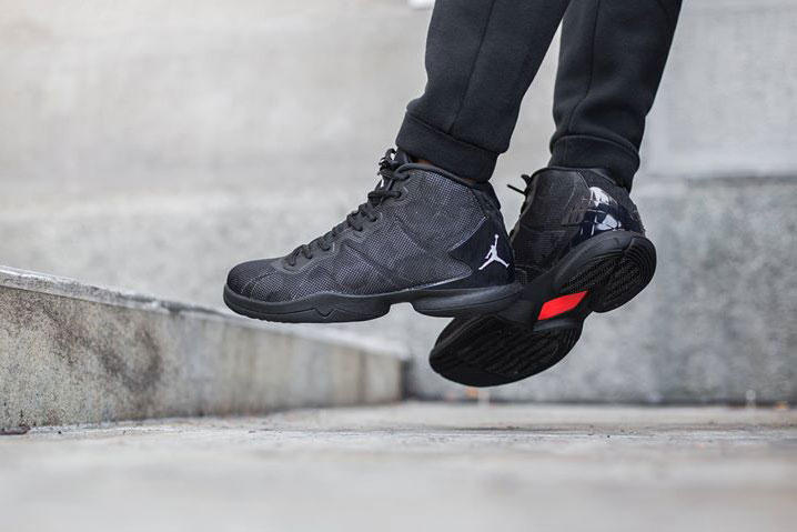 4ee0160ca647 Air Jordan Brand Super.Fly 4 Black Infrared Sneaker Titolo Shop ...