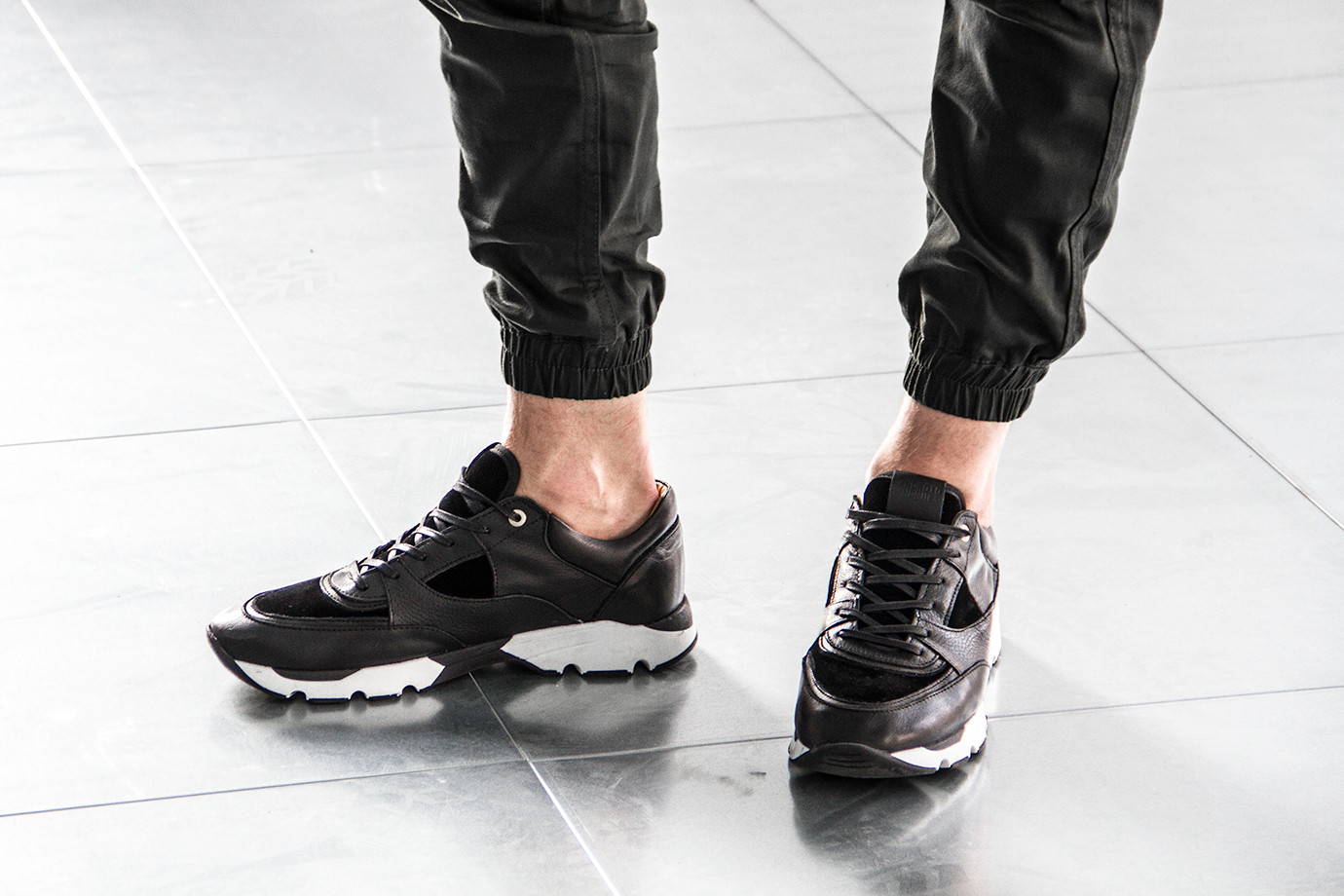 Android Homme Sneaker Belter Black Raw