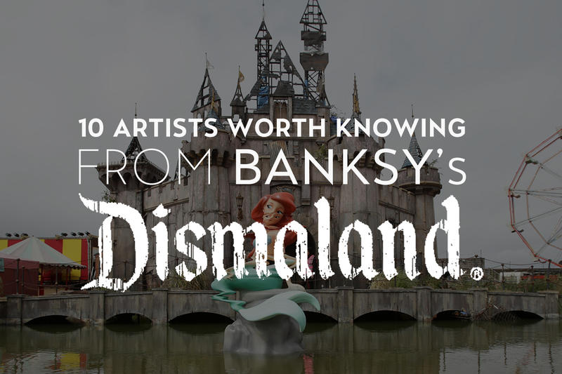 10 Artists Worth Knowing From Banksy's Dismaland