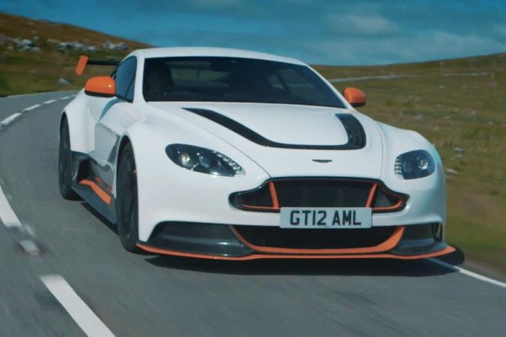 c18b41ed3b519 Chris Harris Takes the Aston Martin Vantage GT12 for a Spin · Automotive