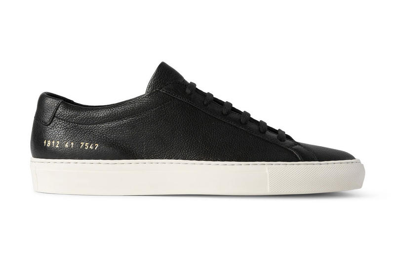Common Projects Achilles Low Grained Leather