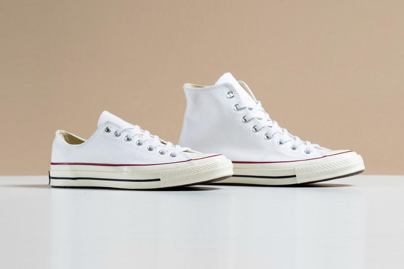 "Converse adds the ""Optical White"" colorway to its stable of  70 takes on  the classic Chuck. b7960be18986"