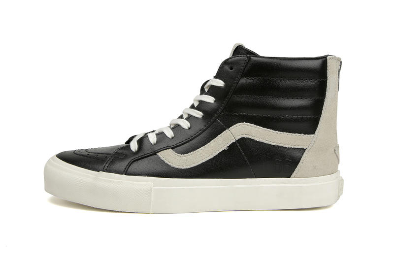 50197ed8f7 T x Vans 2015 Summer Sk8-HI Reissue Zip LX. A luxe take on the classic  mid-top.