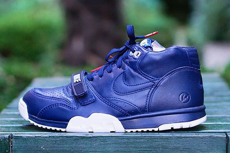 official photos 19acf f71d2 A First Look at the fragment design x NikeLab Air Trainer 1 SP