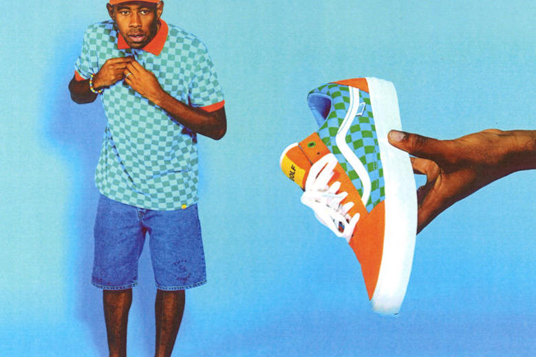 6571dcdb6180 Golf Wang x Vans 2015 Old Skool Collection. Tyler