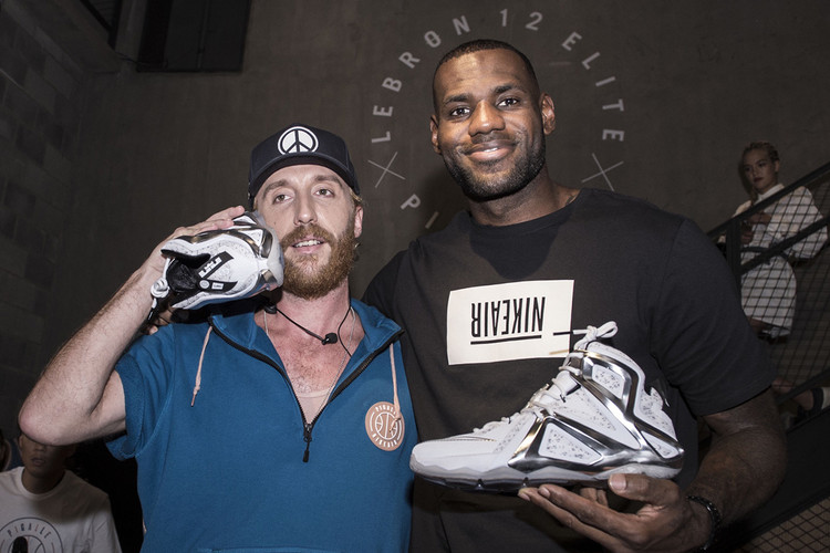 LeBron James and Stéphane Ashpool on the Design Concept of Pigalle x Nike LeBron  12 Elite 027cd1507218