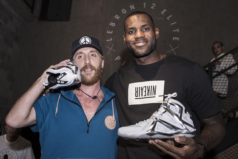 2726a4518e7 We caught up with King James and the Pigalle founder at NikeLab X158  Shanghai.