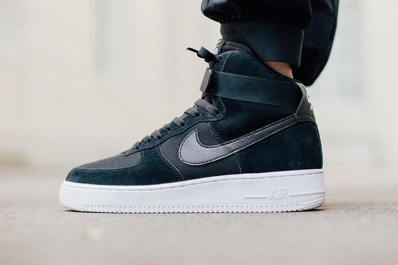 delicate colors factory price cost charm Nike Air Force 1 High Black/White | HYPEBEAST