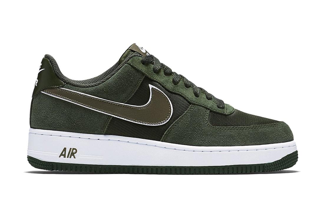 Nike Air Force 1 Low Hunter Green Hypebeast