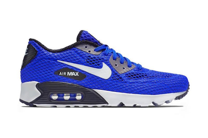 new authentic buy best high quality Nike Air Max 90 Ultra Breeze Plus QS Racer Blue/Dar Grey ...