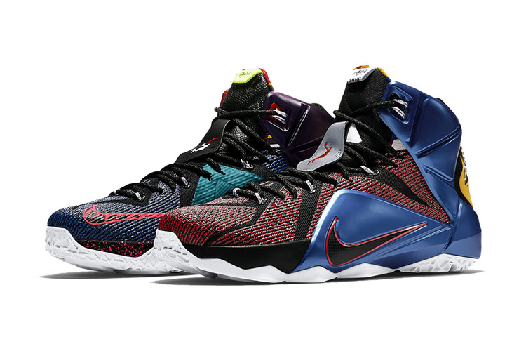 official photos 584f5 9372d Nike LeBron 12