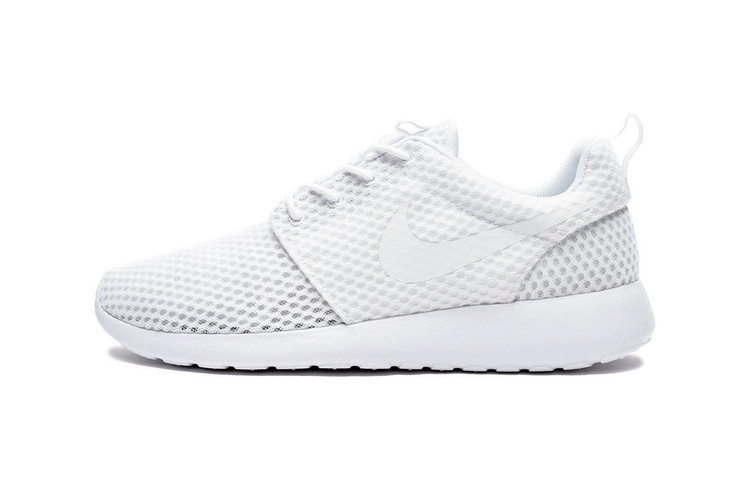low priced c073a 0659c Nike Roshe One BR White Wolf Grey