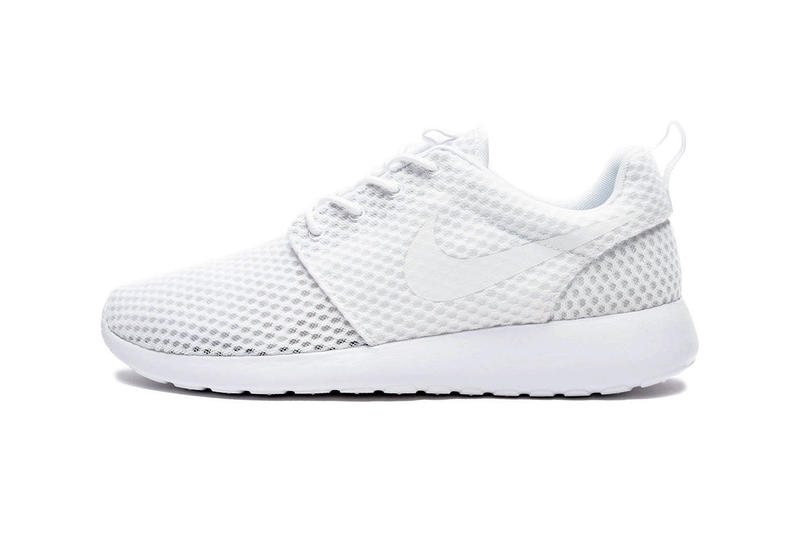 uk availability c35b0 3a6c9 The popular Roshe One silhouette gets a crisp white design.