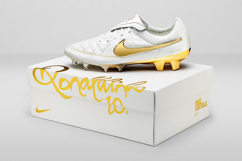 "low priced 6dae9 3ffe3 Nike celebrates the 10th anniversary of the football legends  record-breaking ""Crossbar"" video."