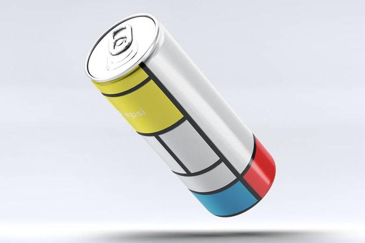 The Mondrian Pepsi Can by Andrea Salamino 79710a039c06