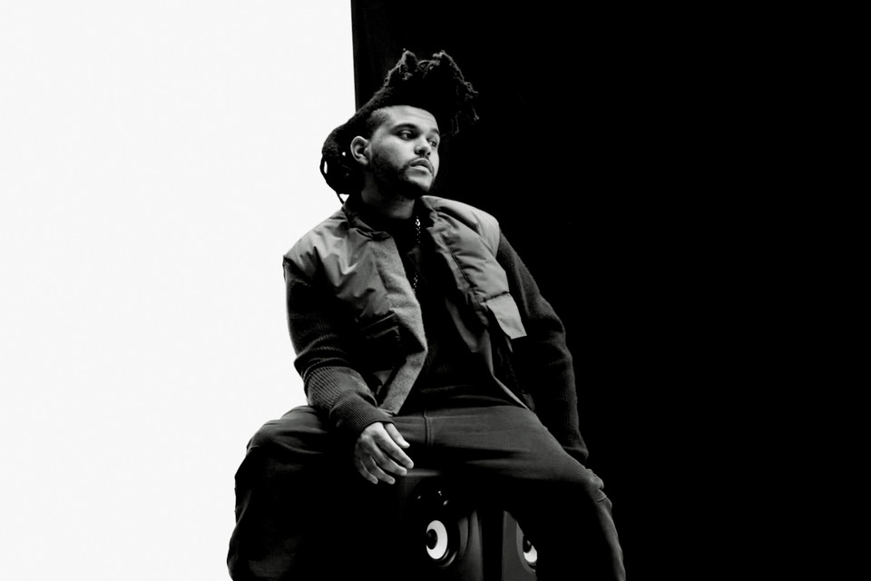 959f0083a43 The Weeknd wears the new adidas and Kanye West collaboration for GQ ...