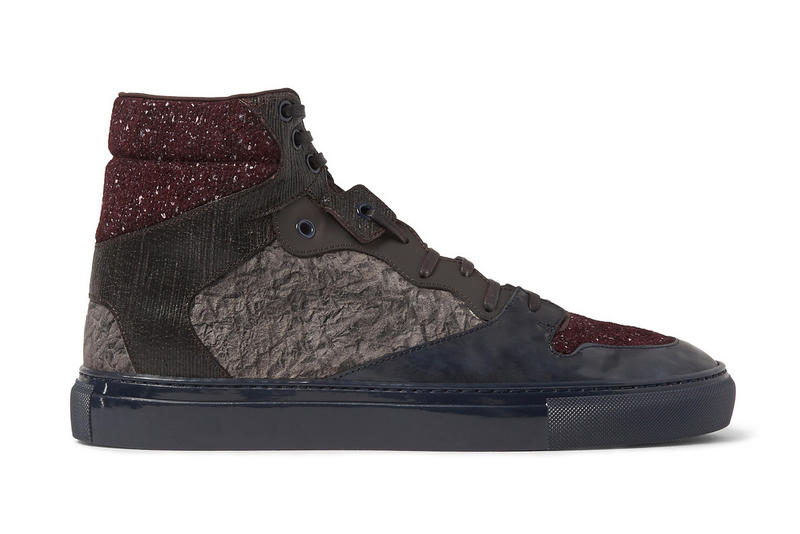 2654d804698f These Balenciaga Sneakers Combine Three Different Patterns