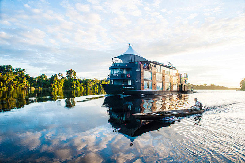 This Floating Hotel Takes You Through the Amazon River