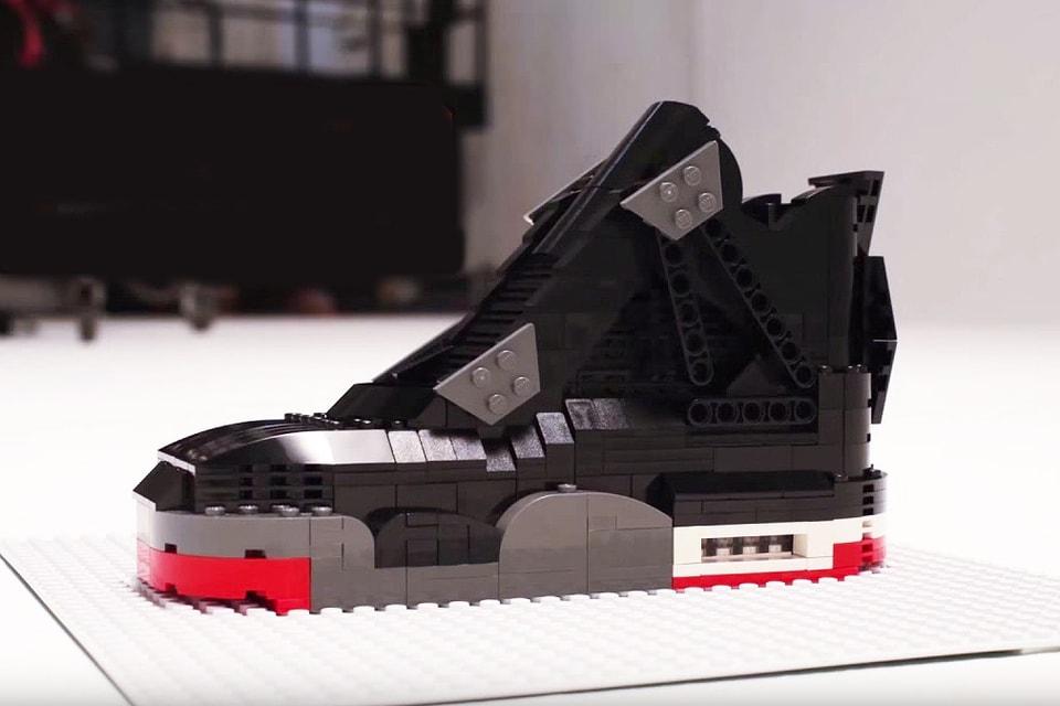 Nouvelles Arrivées 2fdc2 fc375 Watch This LEGO Air Jordan IV