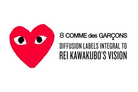 8 COMME des GARÇONS Labels Integral To Rei Kawakubo's Vision