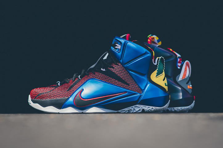 newest collection 5f775 24a72 A Closer Look at the Nike LeBron 12 SE