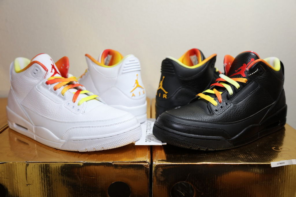 9ab507ed5d8e3 These Drake vs. Lil Wayne Air Jordans Are Going for  25