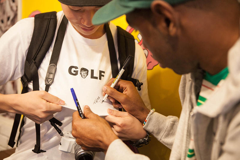 46a5be7d3f13 Golf Wang Cherry Bomb Pop Up Store in Seoul