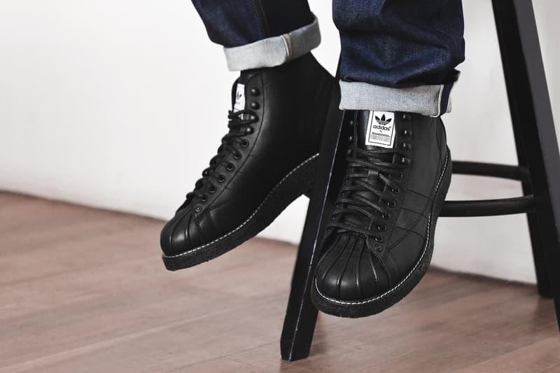 NEIGHBORHOOD x adidas Originals Shell-Toe Boots. A rugged bd6f4a0bf1