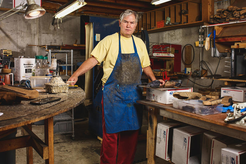 Meet the Man Who Repairs Birkenstocks for a Living