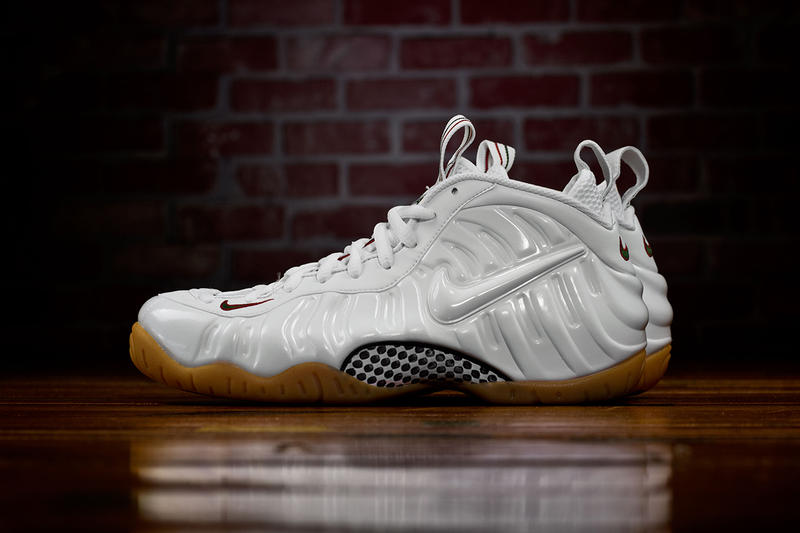 huge selection of dedbe 27919 Nike Air Foamposite Pro White Sneaker | HYPEBEAST