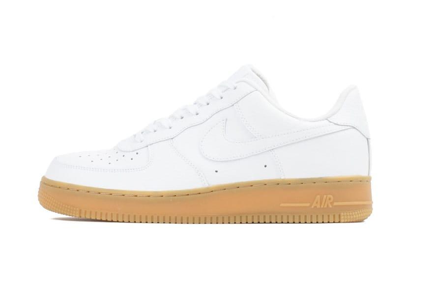 Nike Air Force 1 Low White Gum   HYPEBEAST