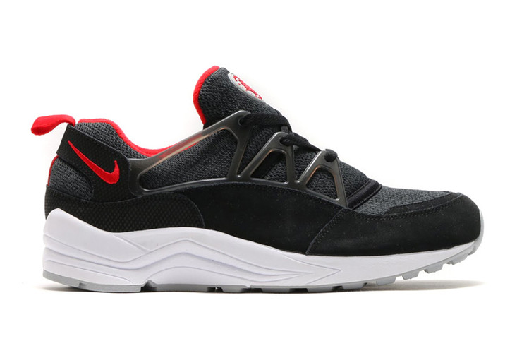 online store b2848 42270 Nike Air Huarache Light Black/University Red-Wolf Grey