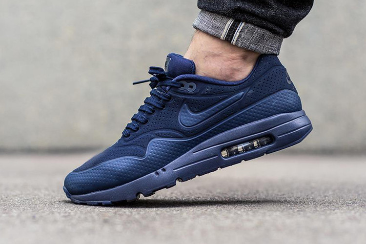 promo code aeef9 b898f Nike Air Max 1 Ultra Moire Midnight Navy/Midnight Navy-Black