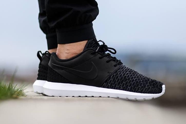 purchase cheap 3a12d aa4b5 Nike Roshe One Flyknit Premium Black  HYPEBEAST