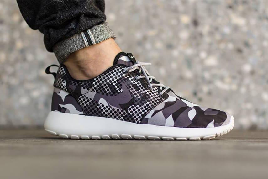 Nike Roshe One Print Camo Polka Dots