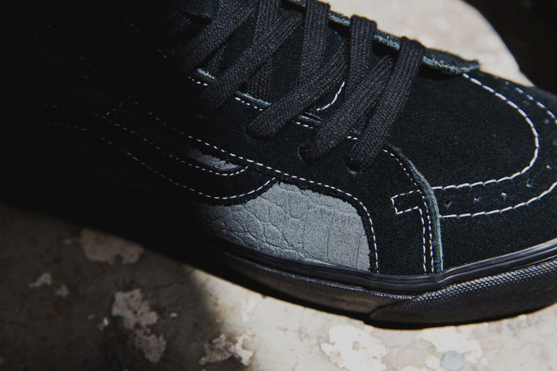 WTAPS and Vans Vault Collaborate for 2015 OG Sk8-Hi LX and OG Style ... a581bc33f