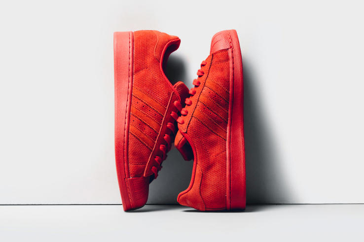 Adidas Originals Superstar Rt Red Suede Hypebeast