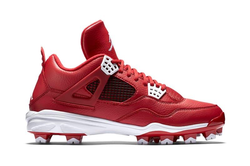 newest 84f19 d4f68 Air Jordan IV 4 Retro MCS Baseball Cleat   HYPEBEAST