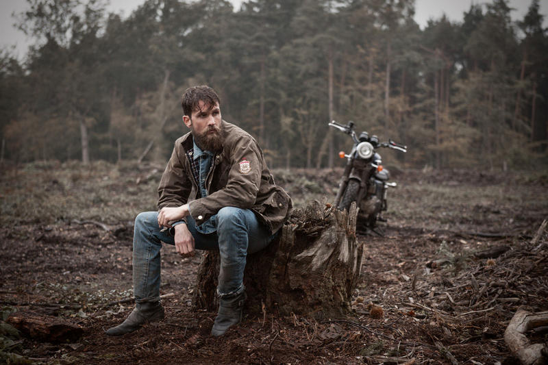 Barbour International x Triumph Motorcycles 2015 Fall/Winter Capsule Collection