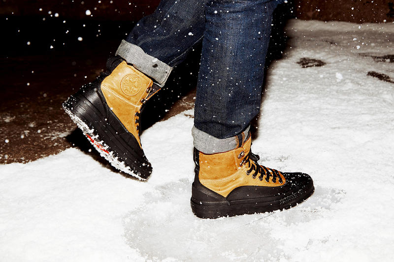 e1fb6377026d Converse Debuts the Chuck Taylor All Star Tekoa. Brace for winter with the  newest winter boot-meets-sneaker from Converse.