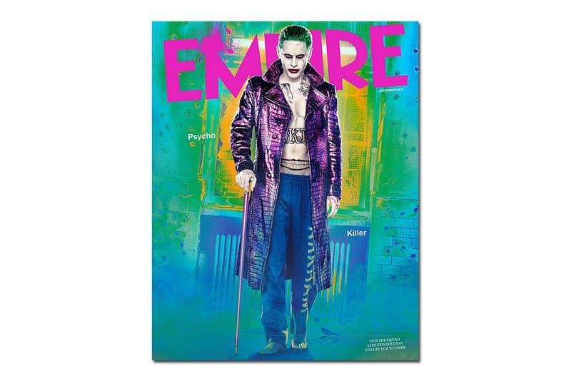 Jared Leto Empire Magazine Cover As The Joker Hypebeast
