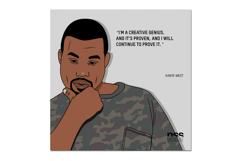 Kanye West Quotes From Showstudio Hypebeast
