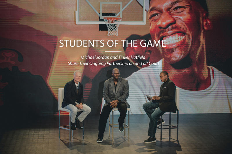 Students of the Game  Michael Jordan and Tinker Hatfield Share Their ... 08b7d613a