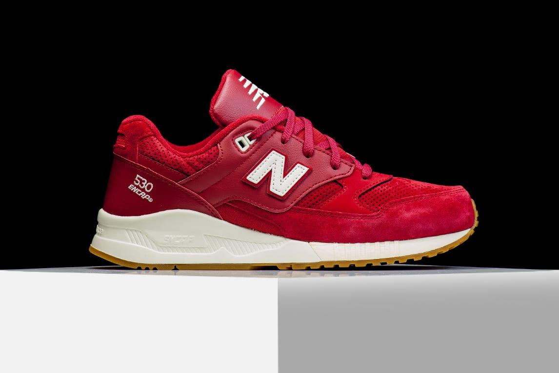 new balance 530 noir et rouge
