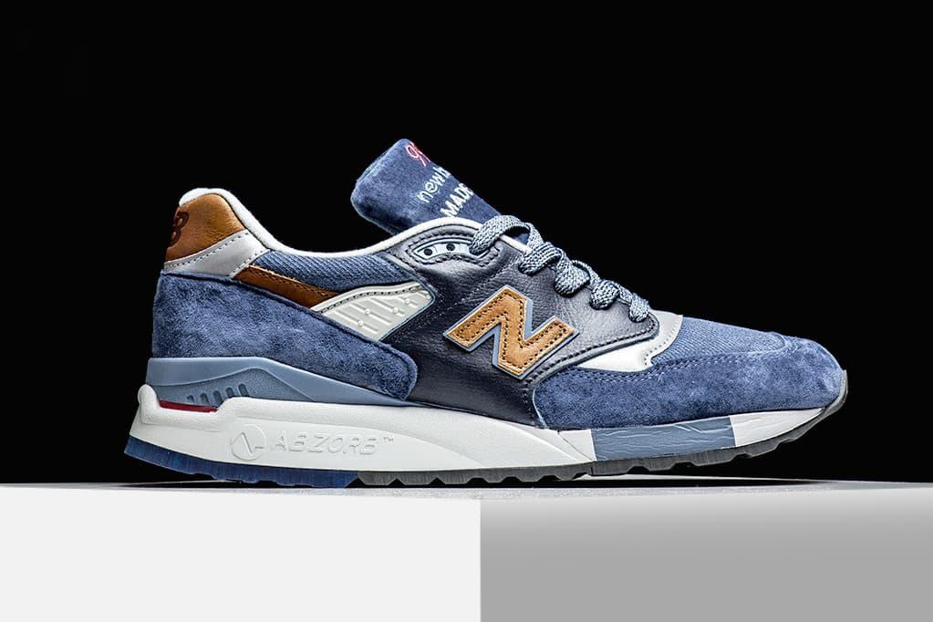 "New Balance 998 ""Camel Blue"""