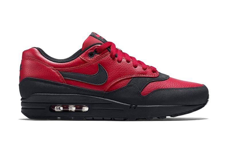 site réputé 5dd04 82a1e Nike Air Max 1 Leather Premium Gym Red Black | HYPEBEAST