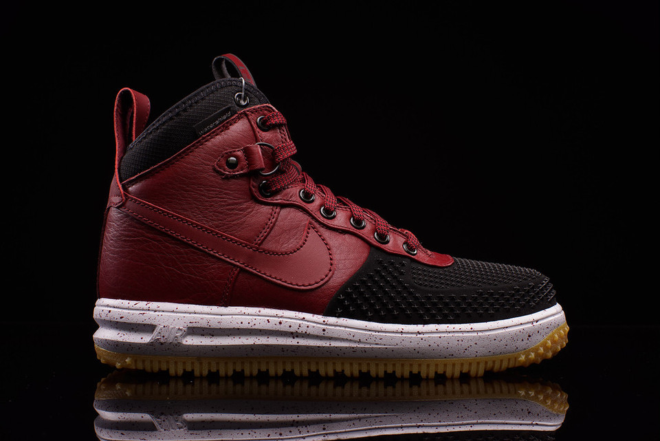 timeless design cead4 2dea1 Nike Lunar Force 1 Duckboot Black Team Red   HYPEBEAST